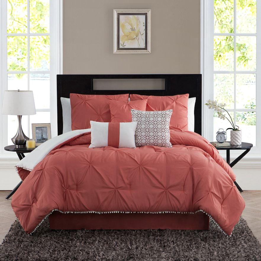 Pom Pom Comforter Set Bedding Master Bedroom Comforter Sets