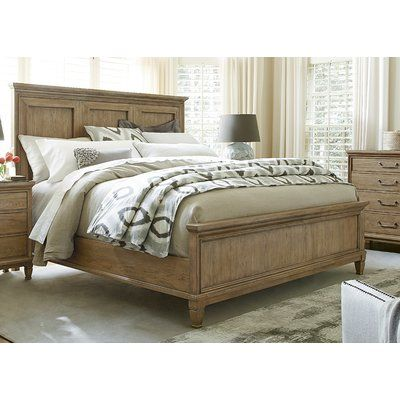 Best Laurel Foundry Modern Farmhouse Riverdale Panel Bed 400 x 300