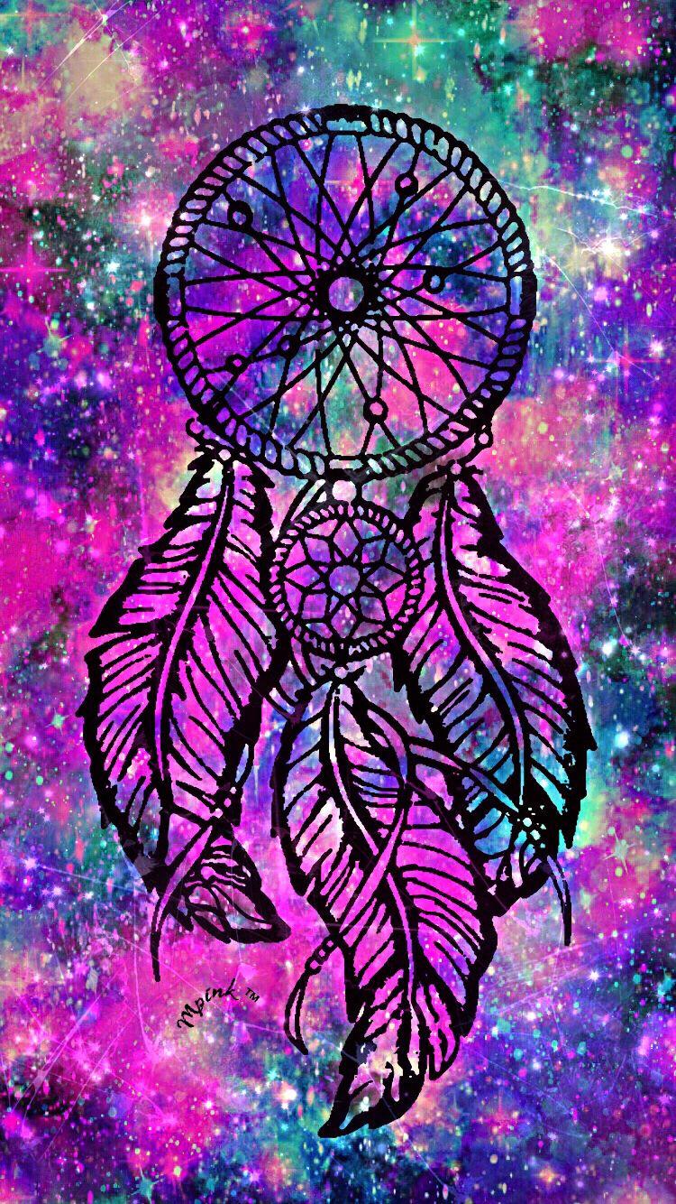 galaxy dreamcatcher wallpaper iphone androidwallpaper