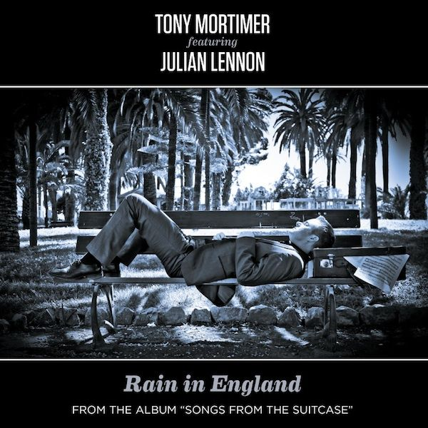 """We are delighted to announce that Rain in England the second single from the new Tony Mortimer album, on FOD Records, """"Songs From The Suitcase"""" featuring Julian Lennon, is available from the 23rd September. Stay tuned for the video which is coming shortly."""