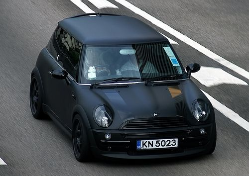 Mini Coopers And All That Theyre About The Mini Black Mini