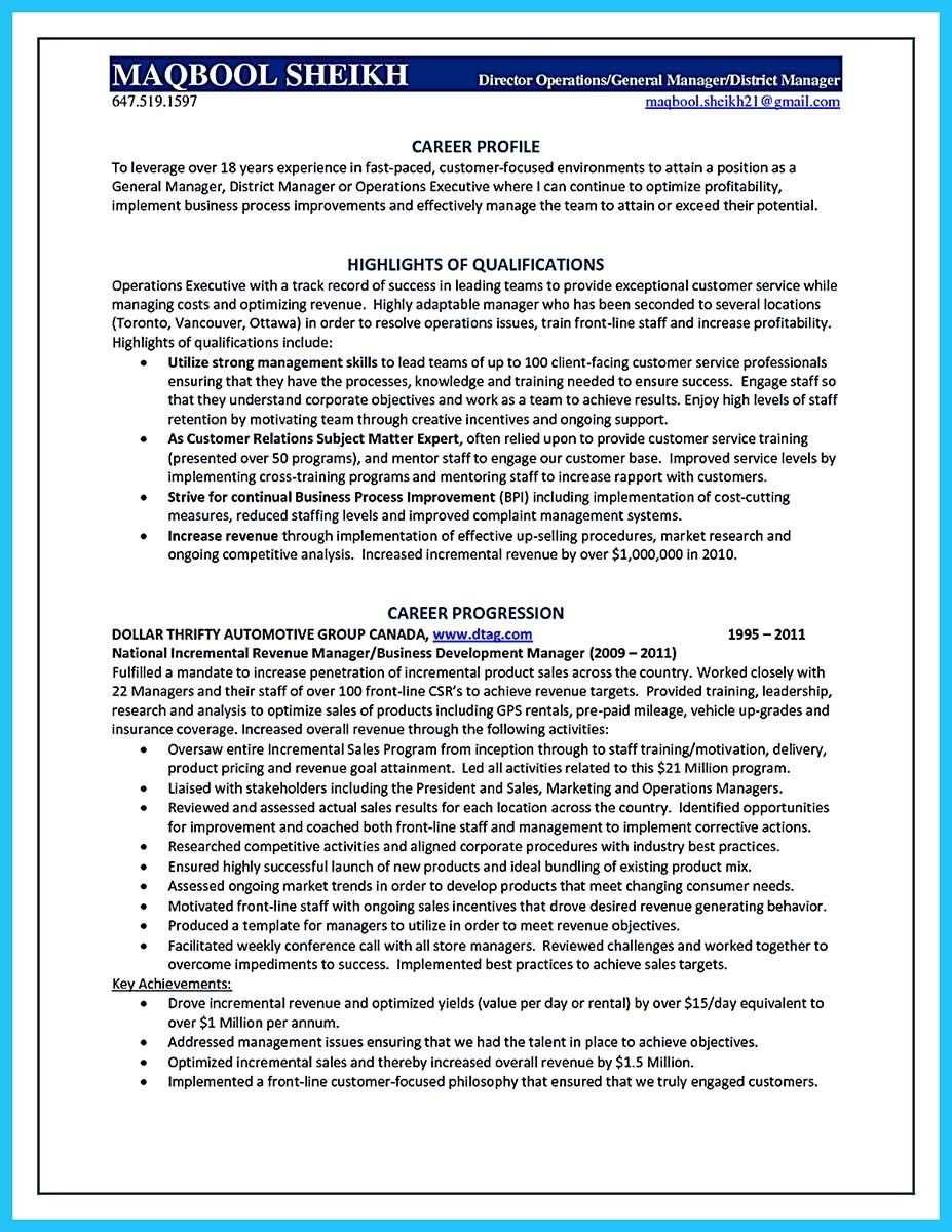Successful Resume Format Cool Starting Successful Career From A Great Bank Manager Resume