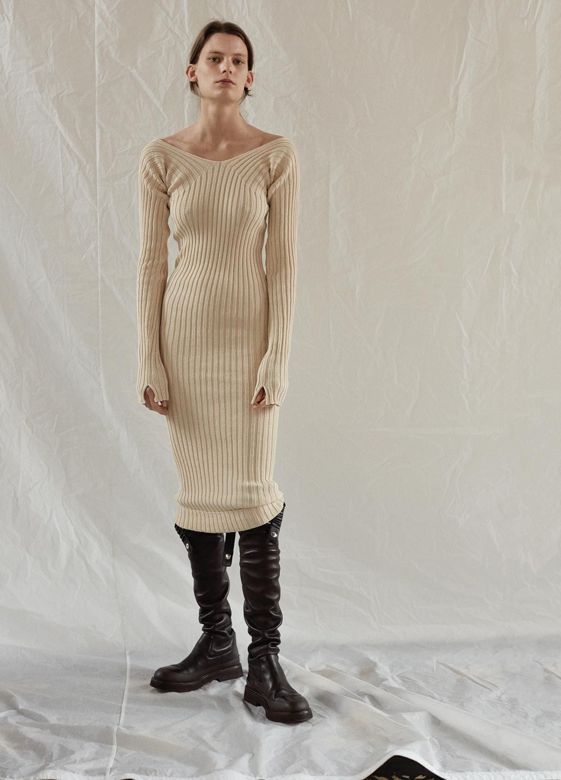How To Wear Ribbed Dress – New Fashion Collection