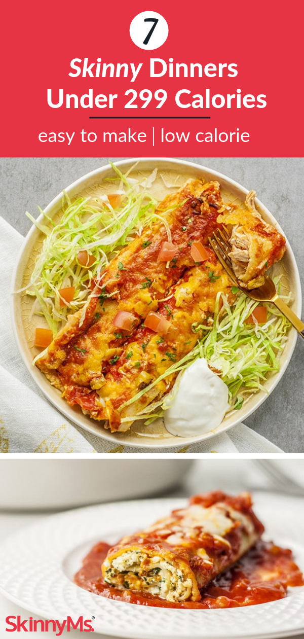 7 Skinny Dinners Under 299 Calories images