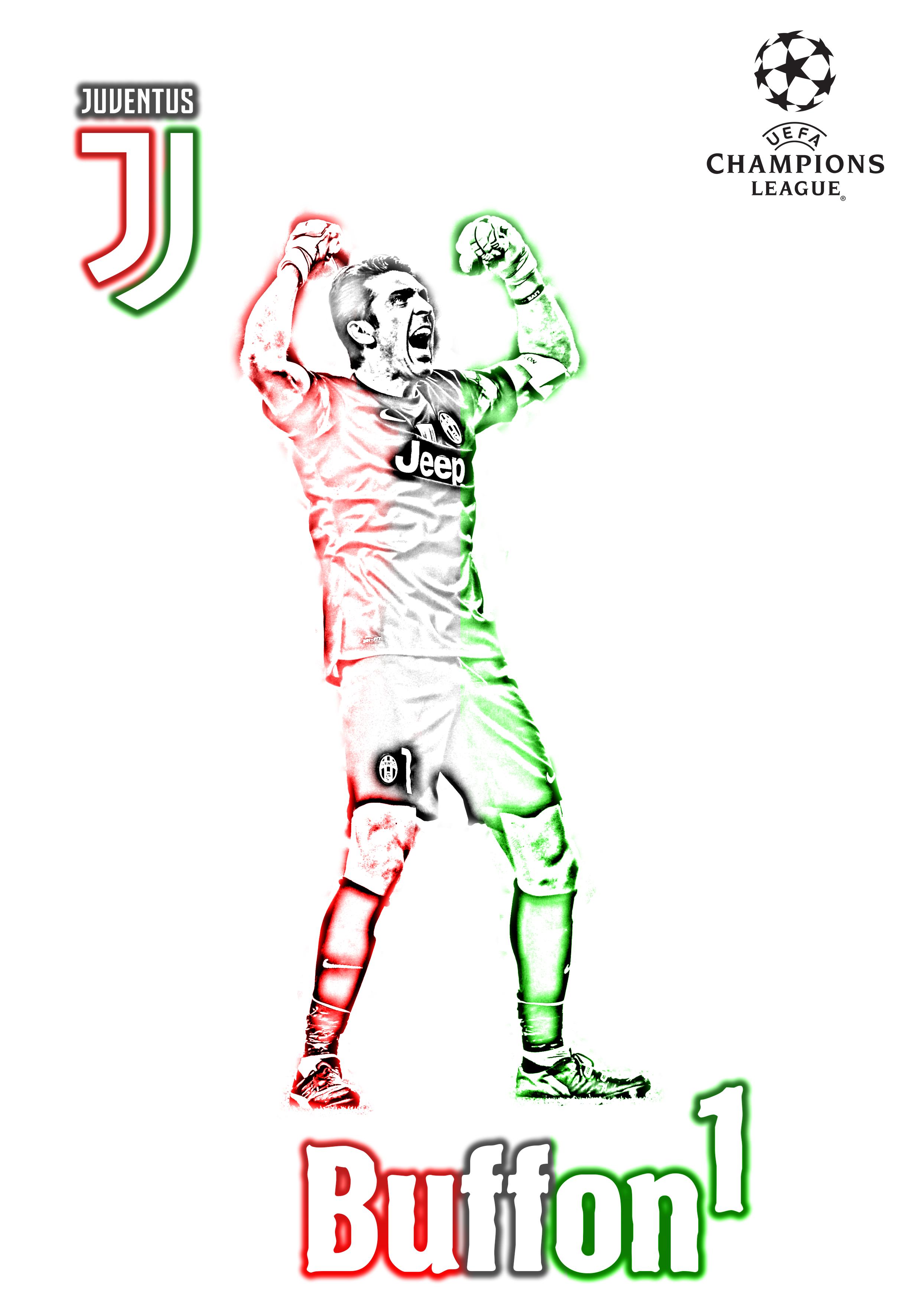 Buffon - Juventus - Champions League 2017 18 - BOB CALLIGARIS ... 4edaf5e7e2f