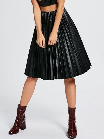 GET $50 NOW | Join Zaful: Get YOUR $50 NOW!https://m.zaful.com/high-waist-pleated-faux-leather-skirt-p_302160.html?seid=5hn4p156ptap80n30tp3u0s953zf302160