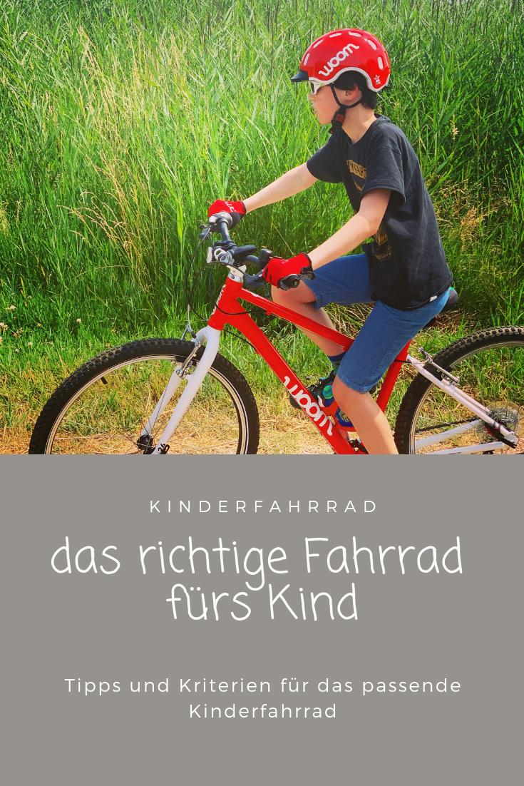 Aktiv Unterwegs Mit Dem Woom Kinderfahrrad Kinder Fahrrad