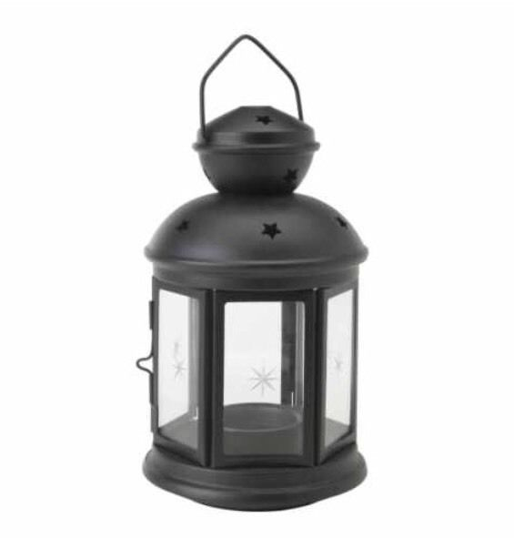 Ikea rotera lantern for tealights black inoutdoor 21cm tall idea ikea rotera lantern for tealights black inoutdoor 21cm tall idea for using workwithnaturefo