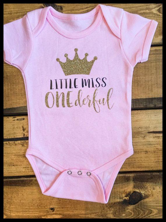 Baby girl Boy 1st birthday T-shirt Or Bodysuit 1,2,3,4,5,