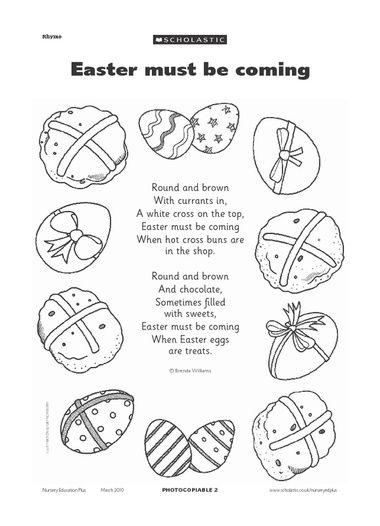 easter recitations for preschool easter activity sheets for preschool easter themed poem 680