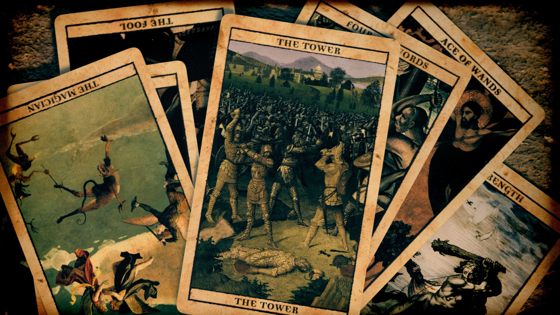 The Tarot cards from Carnivale
