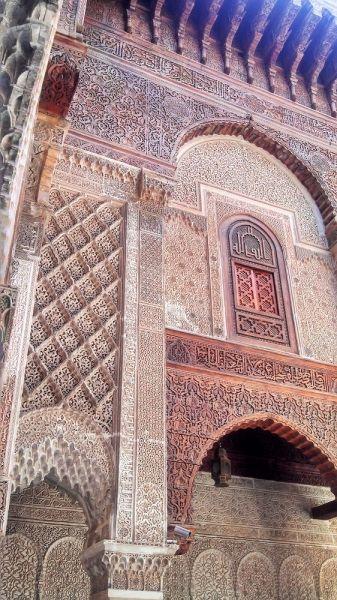 Al Attarine Madrasa, Fez, Morocco.