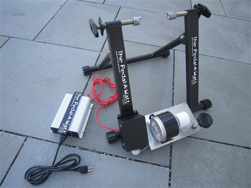 The Home Power Package For The Pedal A Watt Power Generator Bike Bicycle