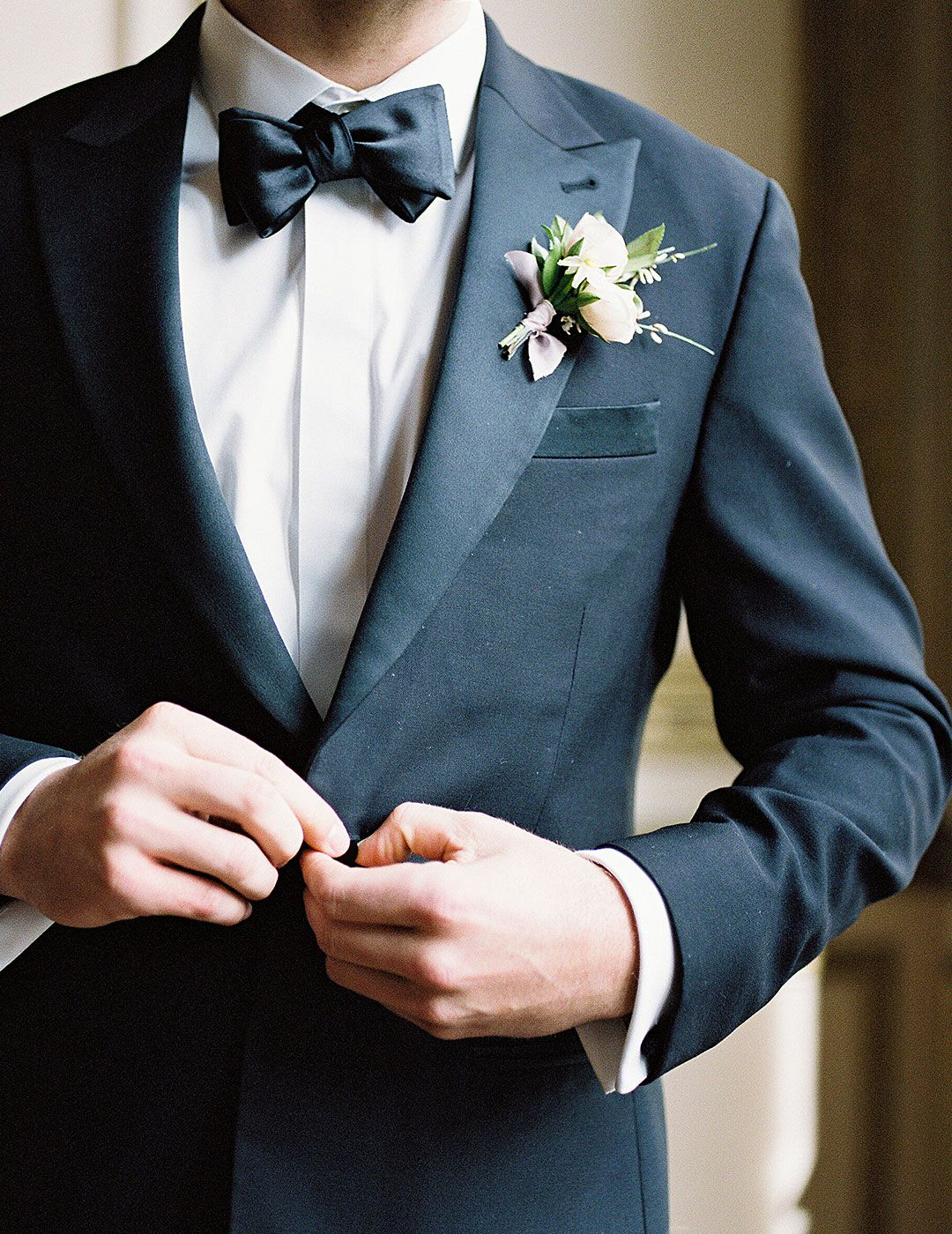 Groom style: looking sharp made easy. The Black Tux offers complete ...