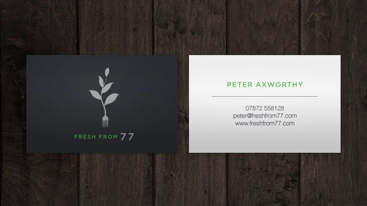 Business card design for hampshire catering company fresh from 77 business card design for hampshire catering company fresh from 77 reheart Image collections