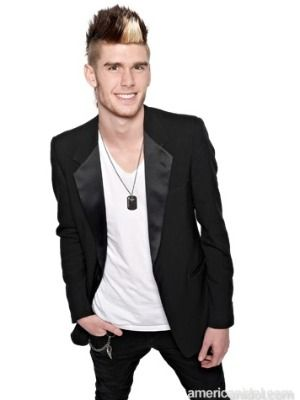 Colton Dixon...my little sister's American Idol boyfriend. I have to admit, he is pretty dang sexy.(;  He's pretty amazing too, I'd vote for that.(: