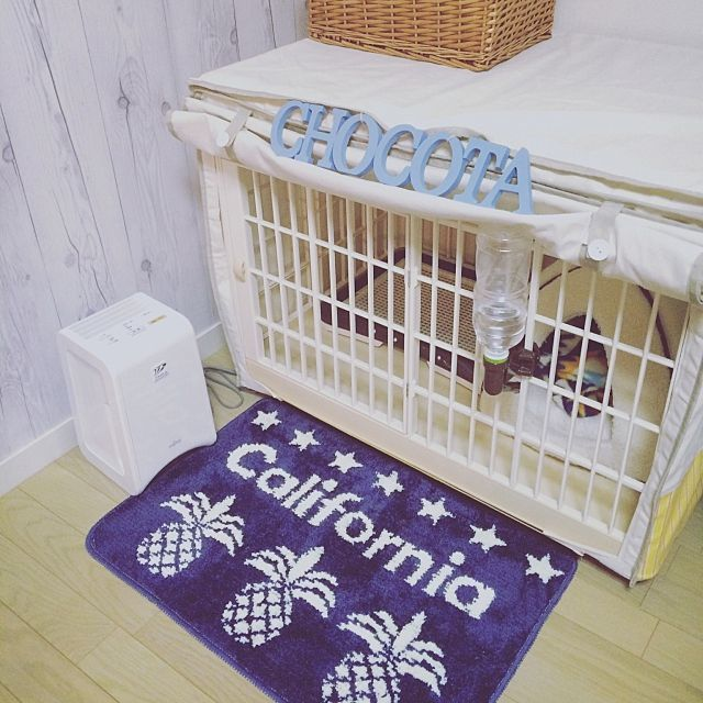 ペットと暮らす ケージのdiy術やトイレの隠し方実例 犬小屋 ペット 犬のケージアイデア