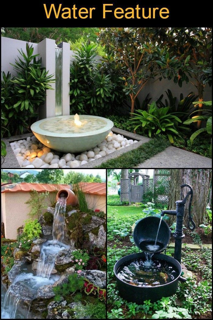 Anyone Can Have a Water Feature in Their Outdoor Area ...