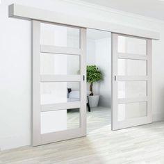Sliding Door Panels | Interior Sliding Door Hardware | Wood …