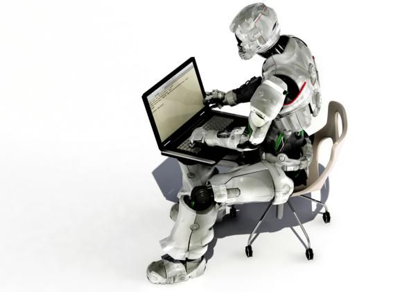The First News Report On The L A Earthquake Was Written By A Robot Robot Picture Internet Traffic Robot