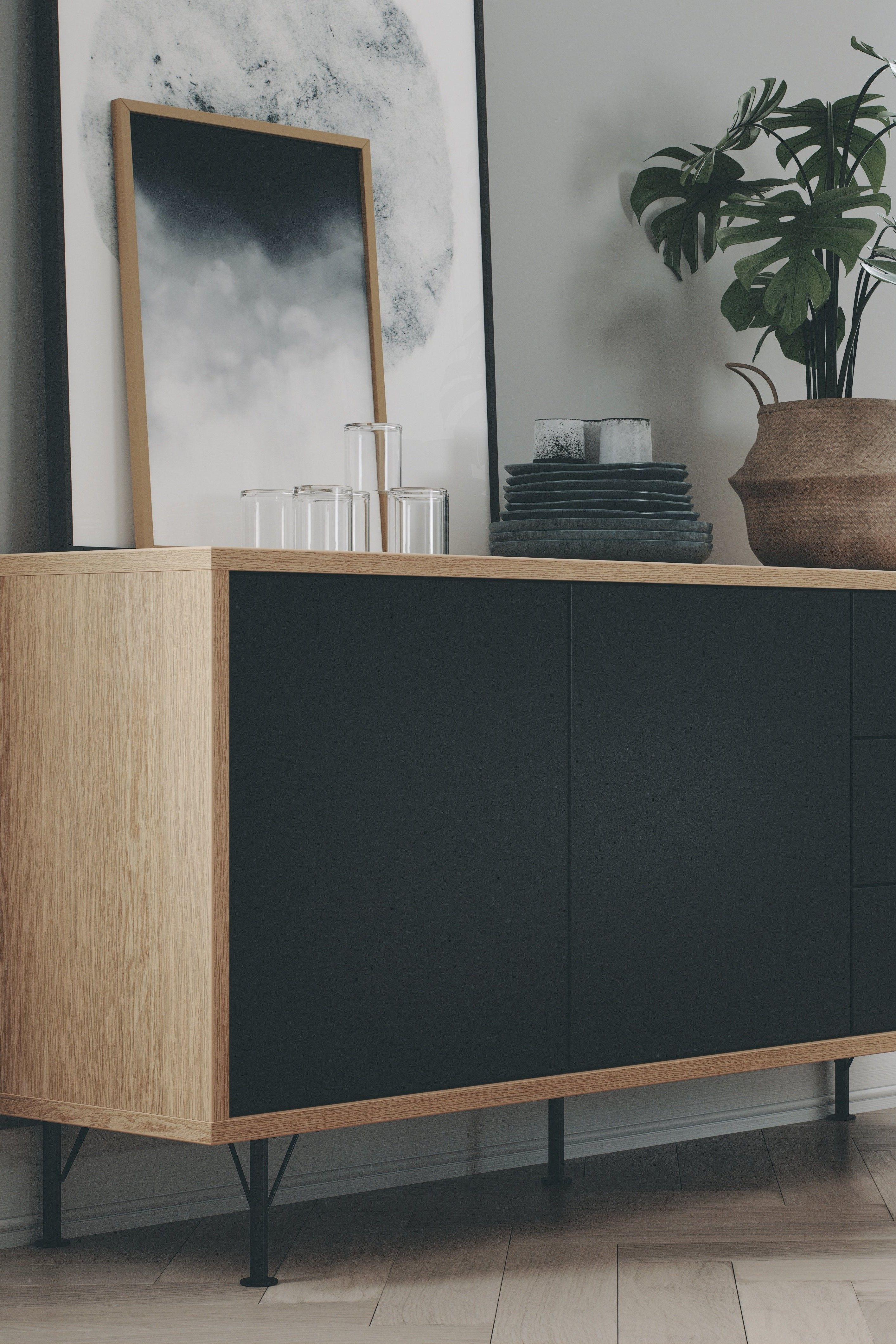 Best Flow Sideboard Sideboard Dekor Wohnen Wohnzimmer Sideboard 400 x 300