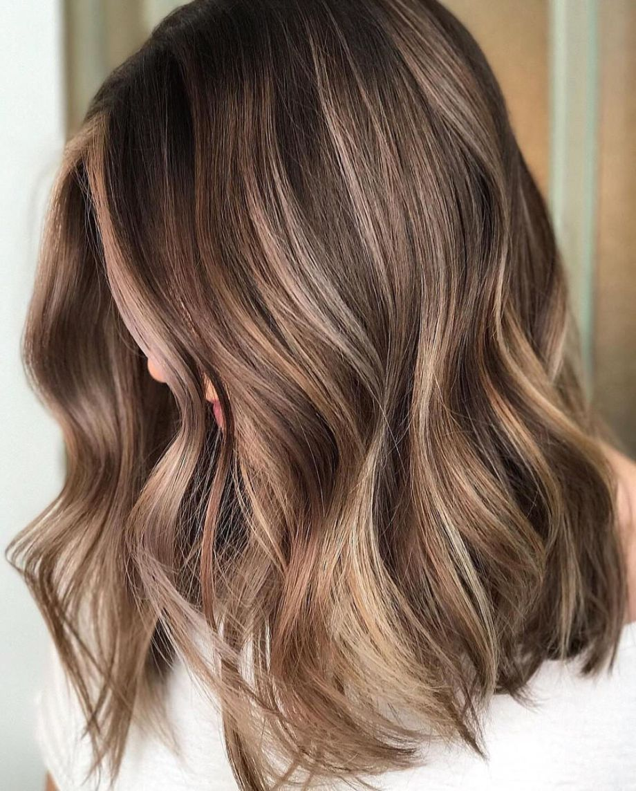 Flattering Balayage Hair Color Ideas For  Brown