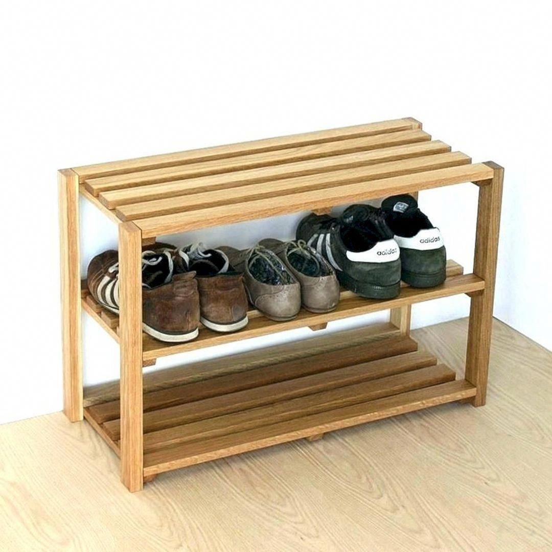 34 Unique Organizing And Storage Items That Will Help You Save Space In Simple Ways Rangement A Chaussures En Bois Etagere A Chaussures Diy Rangement Chaussure Diy
