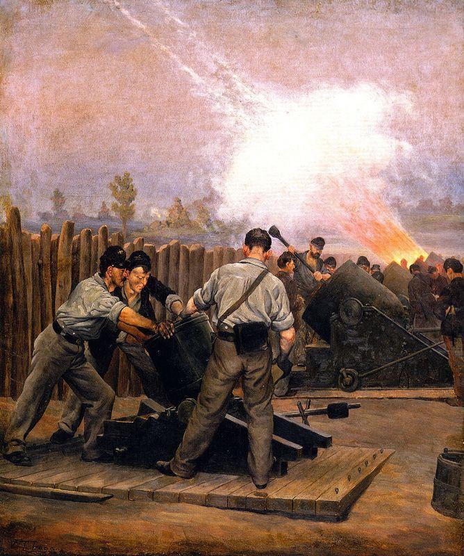ilustración guerra civil