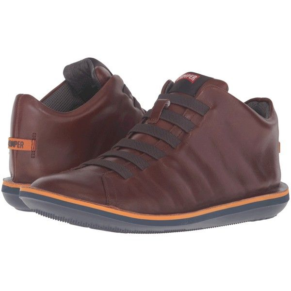 Camper Beetle-36678 (Medium Brown 1) Men's Lace up casual Shoes (160 CAD) ❤  liked on Polyvore featuring men's fashion, men's shoes, brown, camper mens  ...