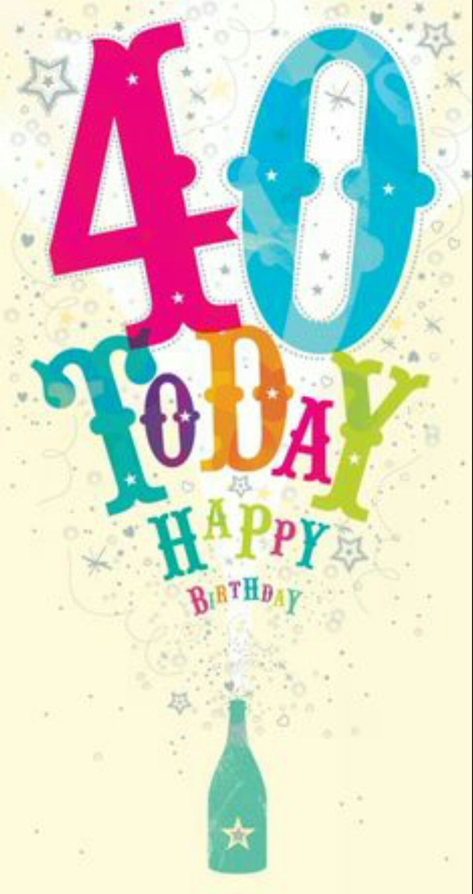 Pin by Jigyasa Arora on Happy birthday 40th birthday