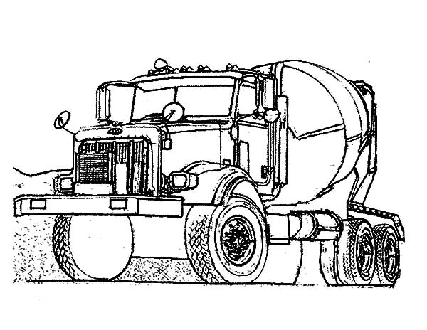 Car Transporter Construction Vehicle Coloring Pages : Best ...