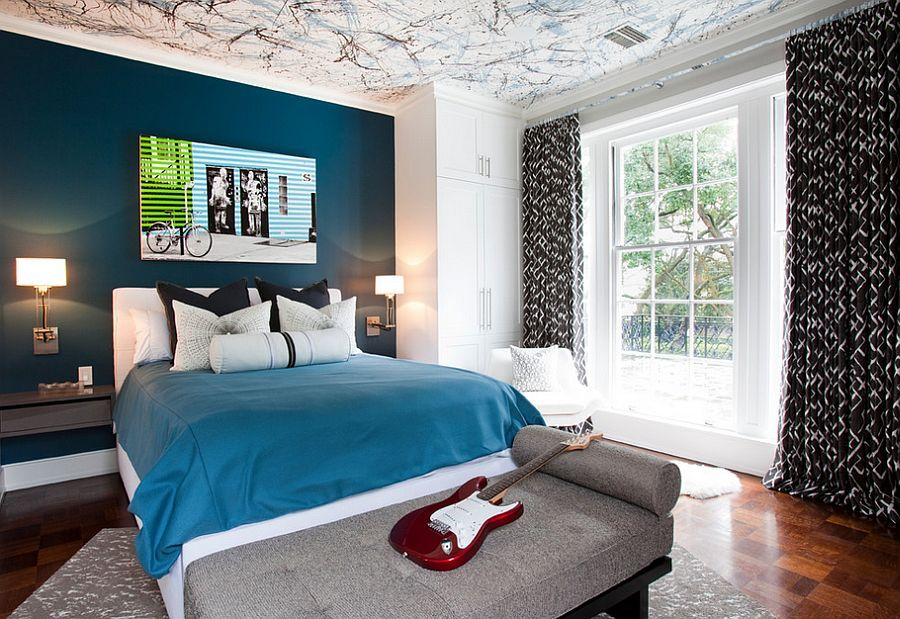 21 creative accent wall ideas for trendy kids bedrooms on wall color ideas id=91724