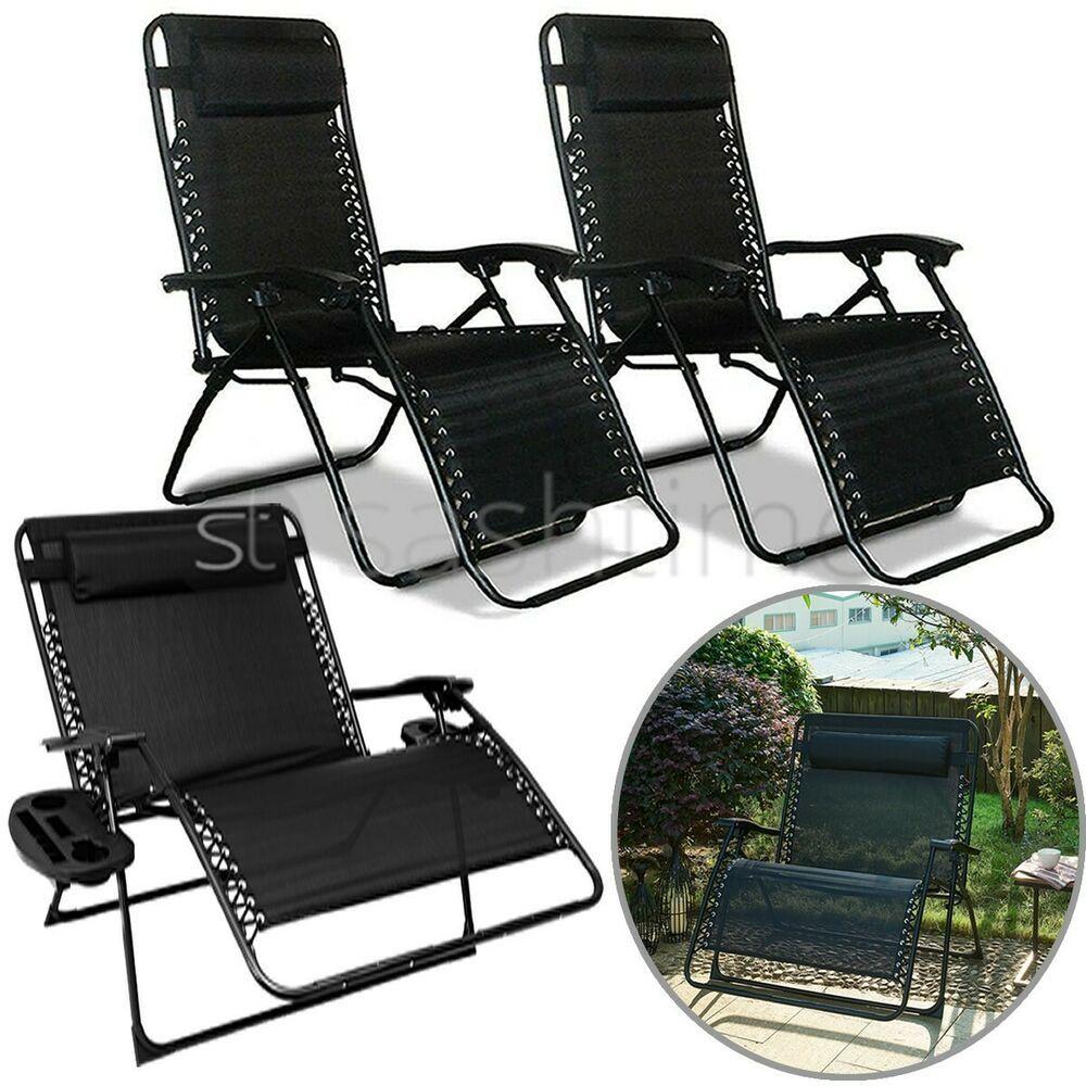 Replacement Zero Gravity Sun Lounger Cushion Pad Recliner Chair Garden Outdoor