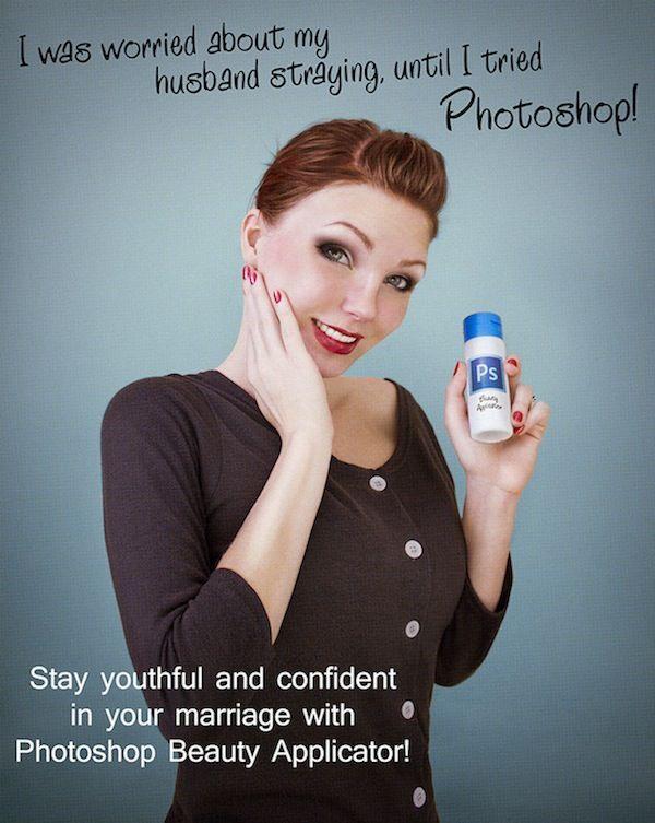Anúncios ironizam uso de Photoshop nas revistas - Adnews - Movido pela Notícia