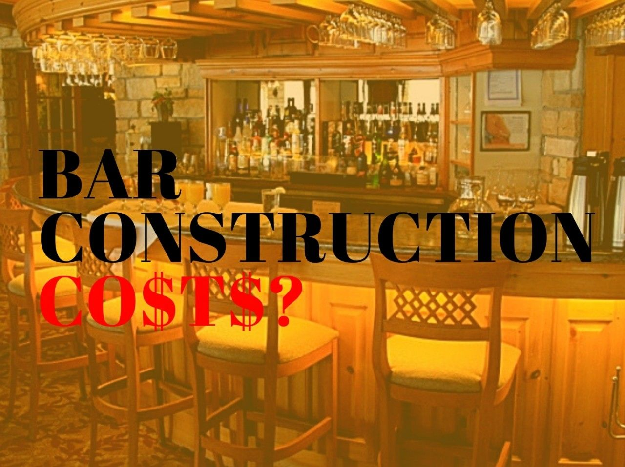 How Much Does It Cost To Build A Commercial Bar In 2020 With