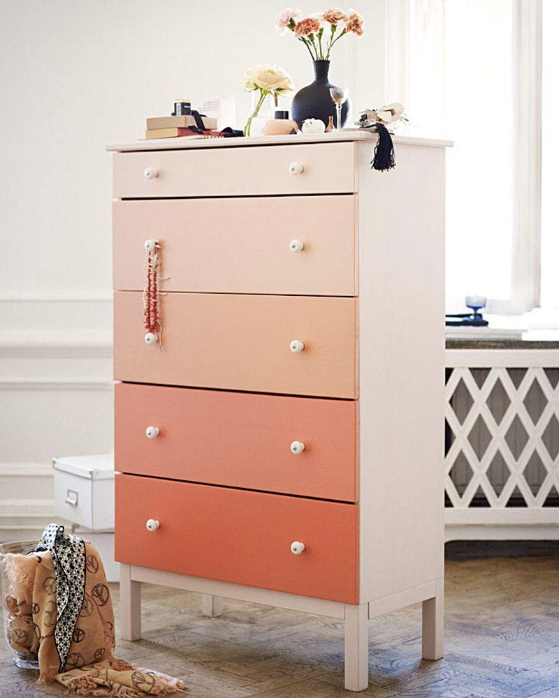 5 Diy Pour Relooker Votre Commode Tarva Ikea Shake My Blog Relooker Meuble Mobilier De Salon Idee Deco