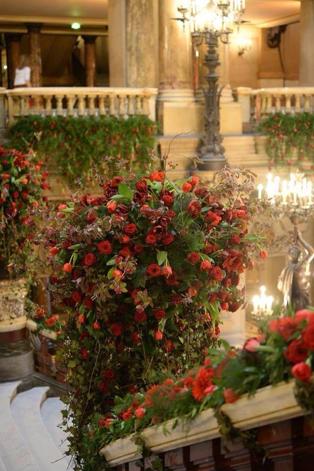 Opéra Garnier Grand Bal Decoration Catherine Muller Paris Flower