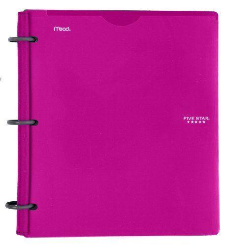 Five Star Flex NoteBinder 1-Inch Capacity Customizable