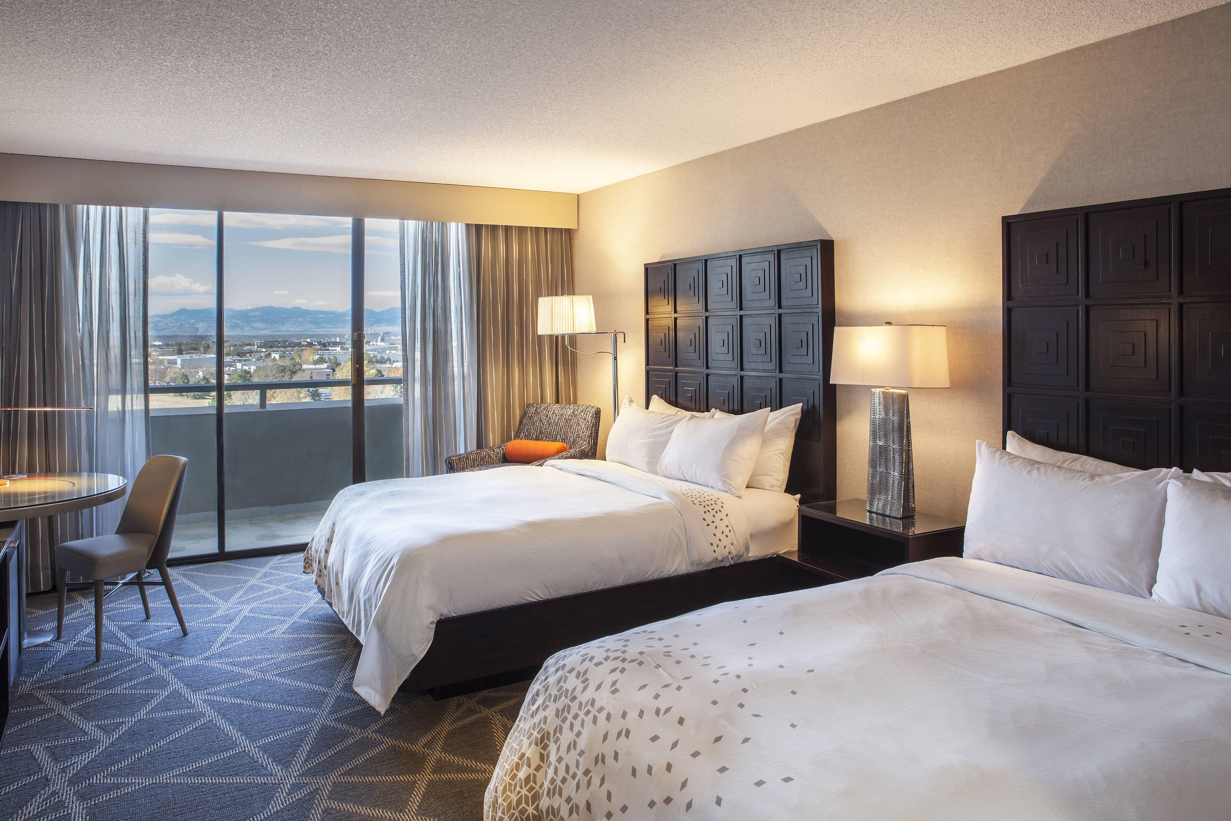 Renaissance Denver Stapleton Hotel Queen Queen Guest Room High