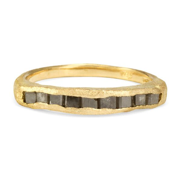 Satomi Kawakita R1901GY  $1,675.00  Gray Diamond Ring   *** Online and Studio Exclusive. Limited Edition ***