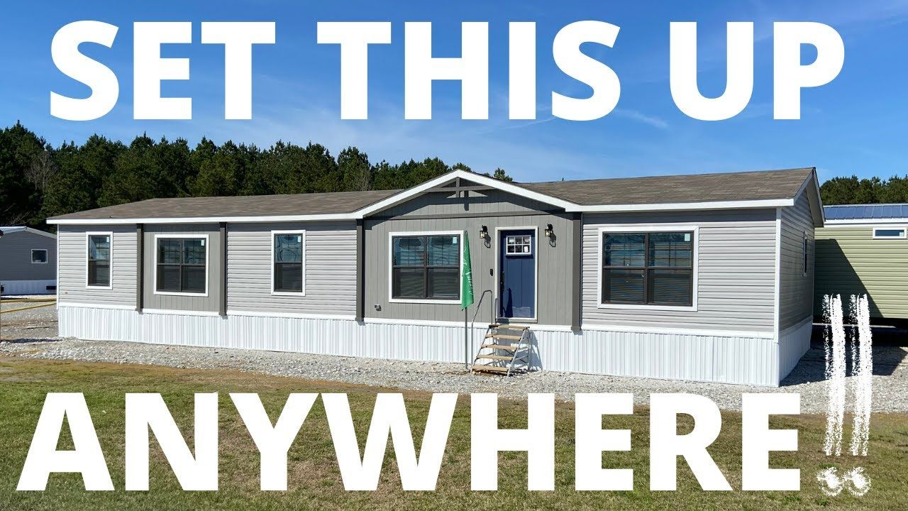 You Choose Where It S Delivered Brand New 1 824 Sq Ft Mobile Home That Has Everything Home Tour Youtube In 2020 House Tours Mobile Home Trailer Home