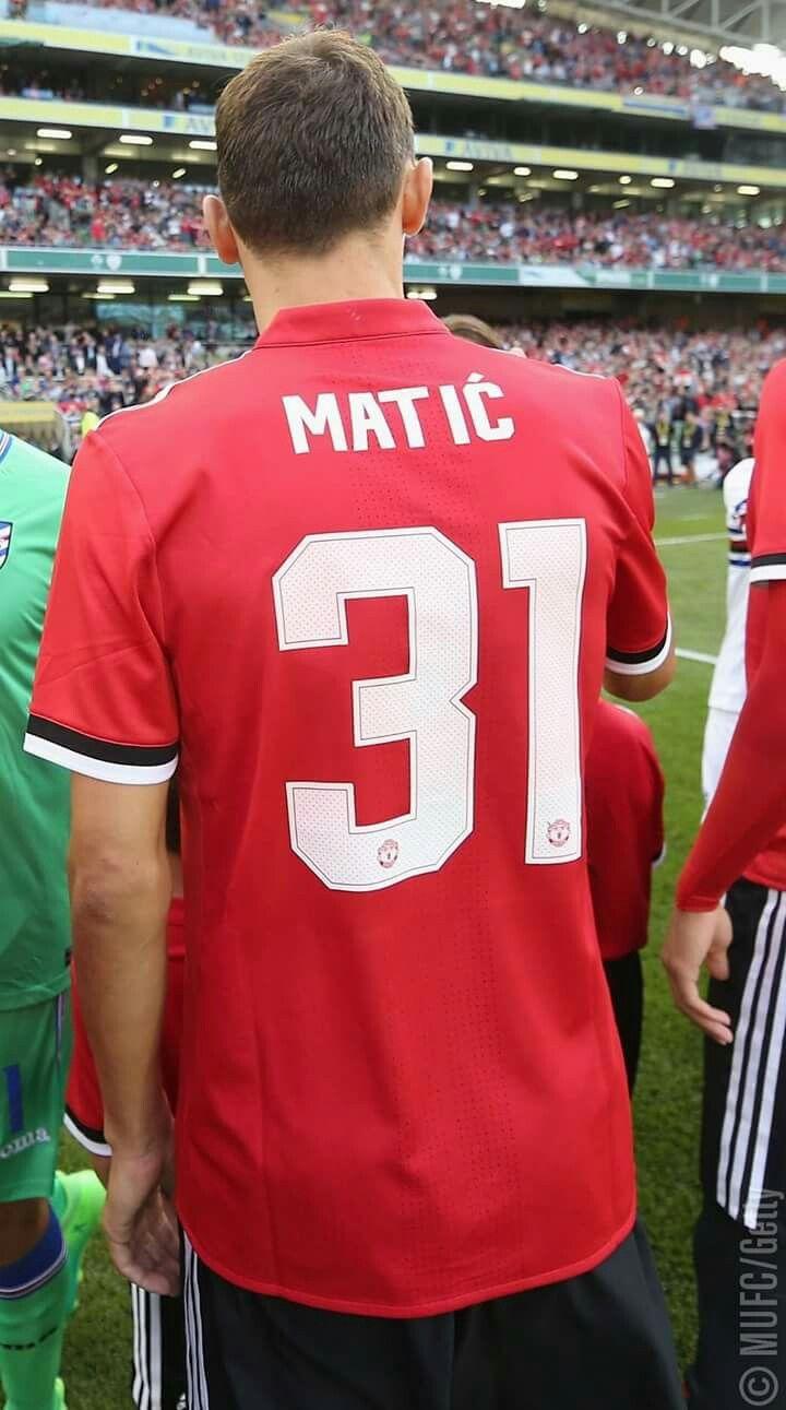 Nemanja Matic no 31 Manchester united, Manchester united