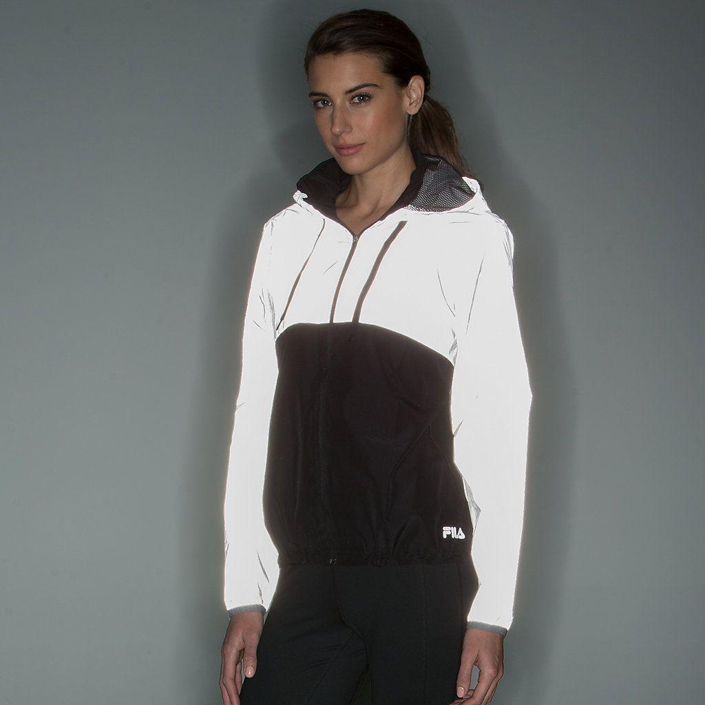 51409a6cbeaa Women s FILA SPORT® Reflective Hooded Windbreaker Jacket