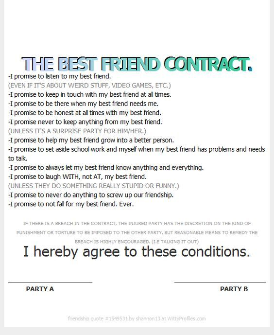 Best friend contract template explore friend thing friend grow best friend contract template explore friend thing friend grow and more thecheapjerseys Choice Image