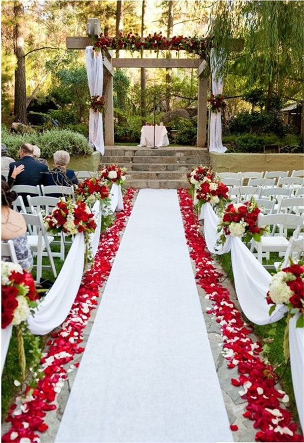 29 Awesome Wedding Aisle Decorations For Fall Wedding Decoration