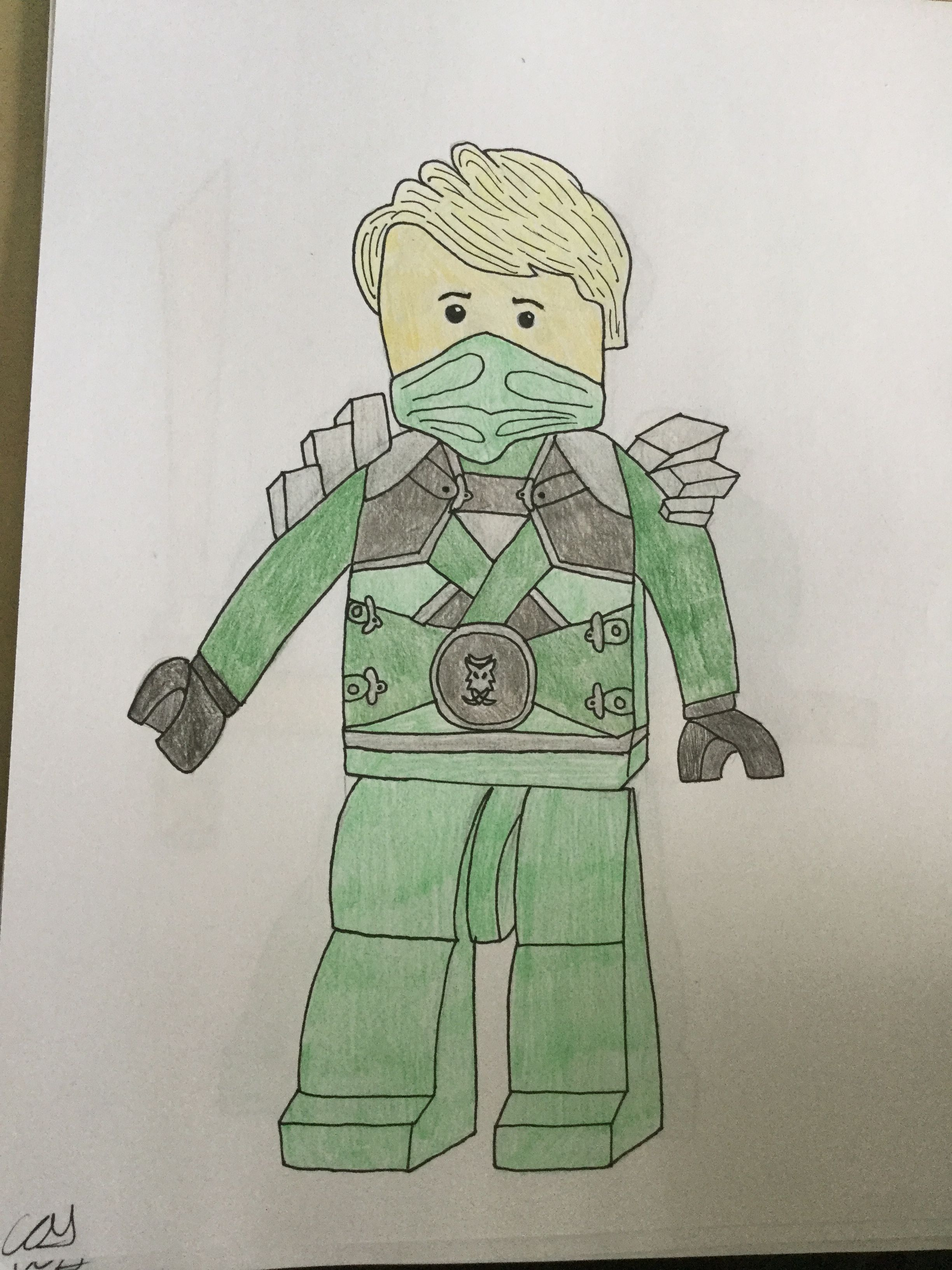 Lloyd With Stone Armour From Season 3 Finale Dessin