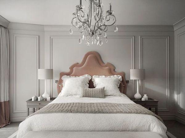 Parede decorada com Boiserie | Home | Pinterest | Stanza da letto ...