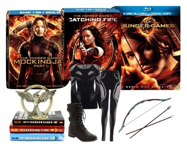"""""""Hunger Games Style"""" by paigehill ❤ liked on Polyvore featuring Trilogy, Hungergames and contestentry"""