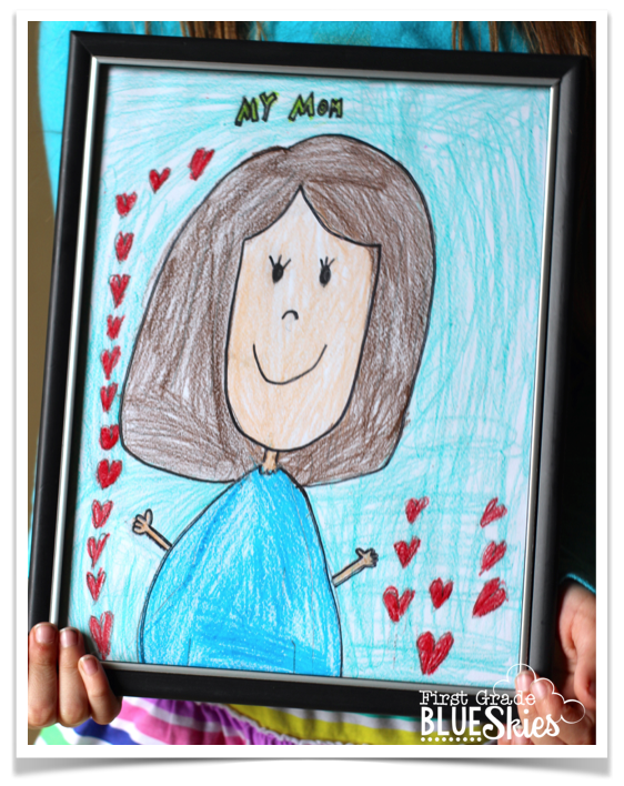 First Grade Blue Skies Mother S Day Activities And Ideas Mother S Day Activities Father S