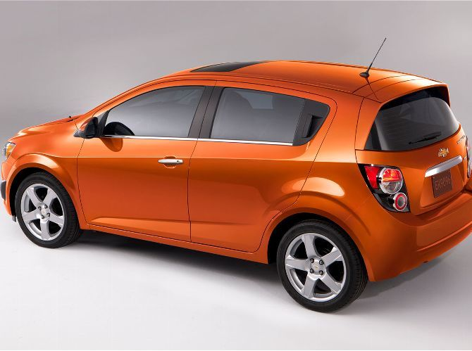 Chevrolet Prices 2012 Sonic Sedan From 14 495 Hatchback From